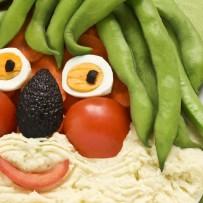 Sund og varieret kost med et strejf af usundt