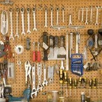 Orden og overblik med hulplader til værktøjet